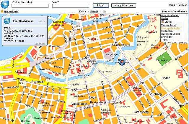 hitta koordinater karta Läsa ut koordinater från digital karta   Forum hitta koordinater karta